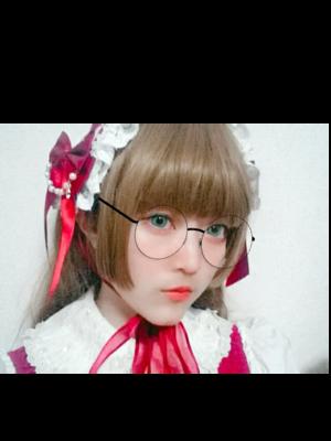 紗波 純子の「Angelic pretty」をテーマにしたファッションです。(2017/11/07)