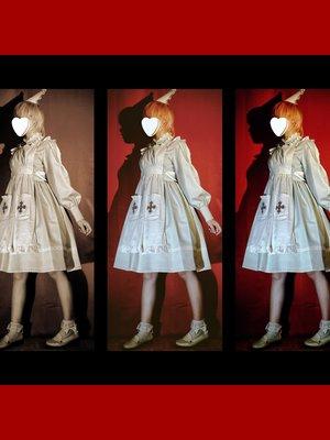 creepy nurse💉 Love this dr...