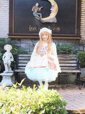 京都嵐山にあるオルゴール博物館にて