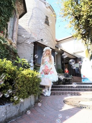 京都嵐山のオルゴール博物館としゃぼん玉です♡