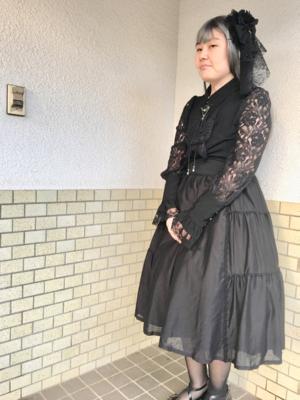 彰紗の「Lolita」をテーマにしたファッションです。(2017/11/20)