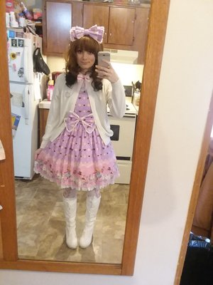 Sweet lolita for cold day ...