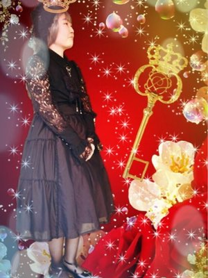 彰紗の「Lolita」をテーマにしたファッションです。(2017/11/22)