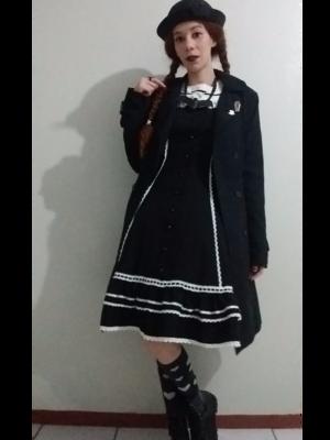 Casual black x white