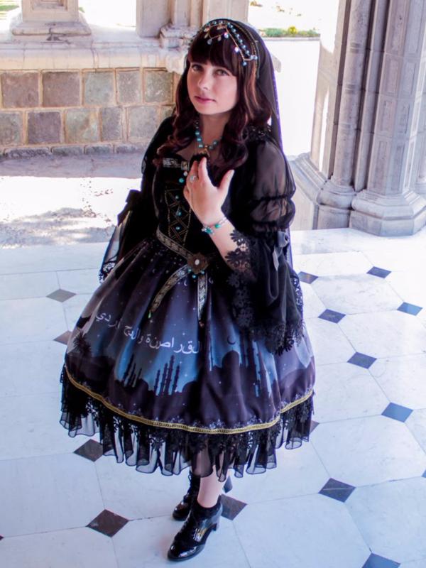 "My dream dress: ""Arabian N..."