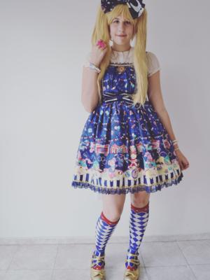 Juliettaの「Angelic pretty」をテーマにしたファッションです。(2017/12/04)