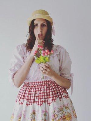 Juliettaの「Country Lolita」をテーマにしたファッションです。(2017/12/04)