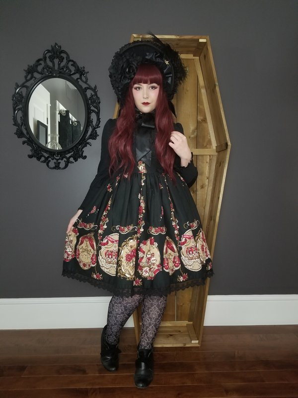 My outfit for a high tea w...