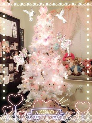 私の夢のようなコレクションで作られたクリスマスツリー