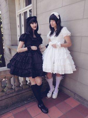 友達と「黒/白」双子コーデ (*^▽^)/★*☆  ...