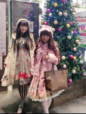 友達と一緒 with my friend