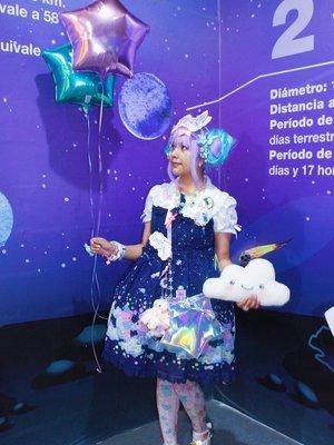 Suzuの「Lolita」をテーマにしたファッションです。(2017/12/12)