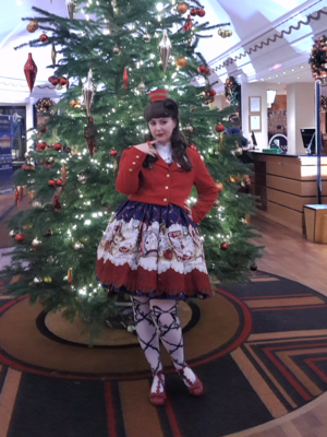 Nutcracker inspired outfit...