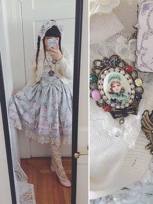 Junie Greenの「Angelic pretty」をテーマにしたファッションです。(2016/09/19)