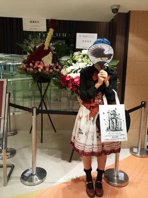 村口小4の「Lolita」をテーマにしたファッションです。(2017/12/20)