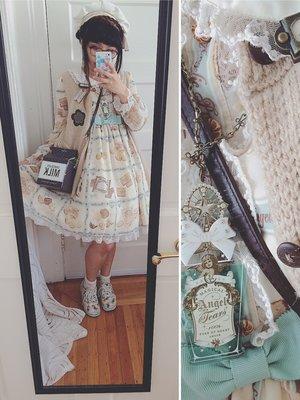 Junie Greenの「Angelic pretty」をテーマにしたファッションです。(2016/09/26)
