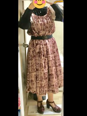 夏妃の「EXCENTRIQUE」をテーマにしたファッションです。(2017/12/27)