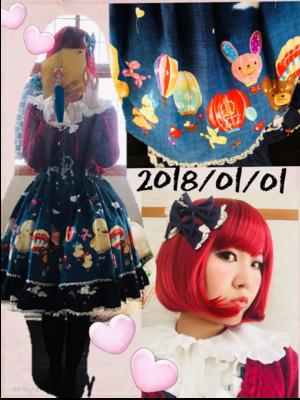 望月まりも☆ハニエル's 「this-year's-first-coordinate」themed photo (2018/01/01)
