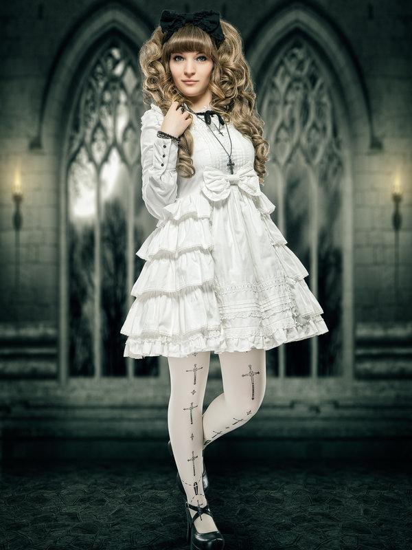 Nyankoshiの「Angelic pretty」をテーマにしたファッションです。(2018/01/07)