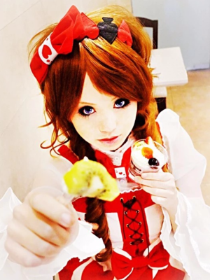 是Yushiteki以「Lolita」为主题投稿的照片(2018/01/11)