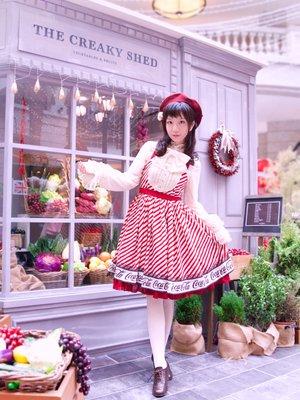 就算是日常的小裙子,也可以穿出華麗感~ JSK:ax...