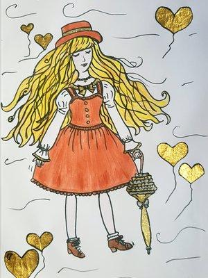 Amandaの「Lolita」をテーマにしたファッションです。(2018/01/18)