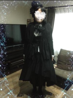 是彰紗以「Gothic Lolita」为主题投稿的照片(2018/01/29)