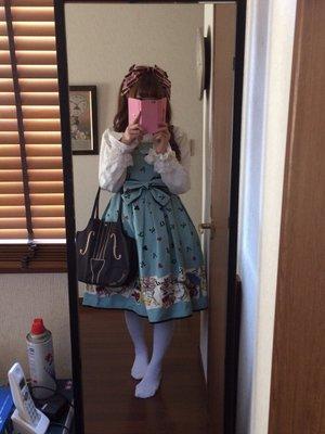 momo♡の「エミキュ」をテーマにしたファッションです。(2016/10/15)