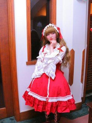 紗波 純子の「Angelic pretty」をテーマにしたファッションです。(2018/02/12)