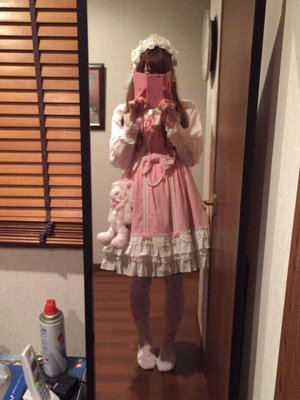 momo♡の「Angelic pretty」をテーマにしたファッションです。(2016/10/19)