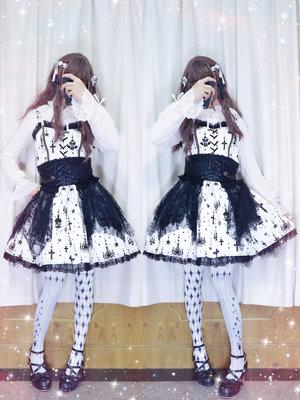 布団子の「Angelic pretty」をテーマにしたファッションです。(2018/02/14)