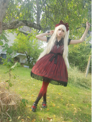 Mew Fairydoll's 「Gothic Lolita」themed photo (2018/02/18)