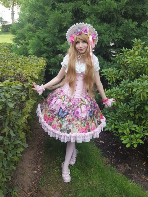 Mew Fairydoll's 「Sweet Classic Lolita」themed photo (2018/02/22)
