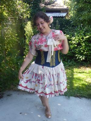 Karaveriteの「Lolita」をテーマにしたファッションです。(2018/02/25)