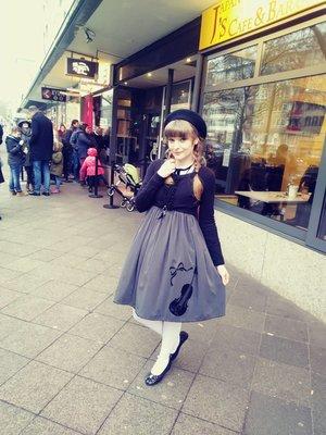 Nyankoshiの「Classic Lolita」をテーマにしたファッションです。(2018/02/25)