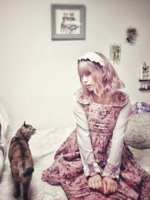 なほこの「Lolita」をテーマにしたファッションです。(2018/02/26)