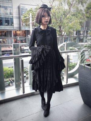 Xiao Yu's 「Goth」themed photo (2018/02/26)