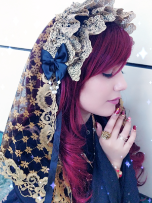 Hachi's 「Lolita」themed photo (2018/02/27)