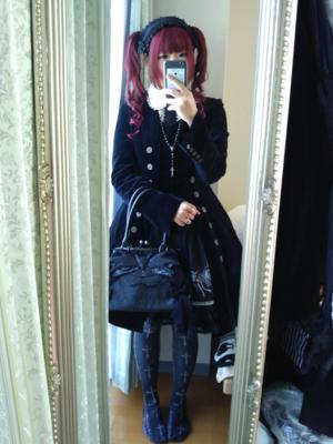 ioriの「Gothic」をテーマにしたファッションです。(2018/03/05)