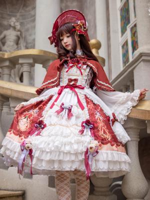 泪个喵の「Lolita」をテーマにしたファッションです。(2018/03/05)