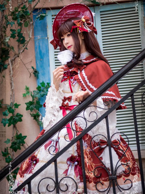 泪个喵の「Lolita」をテーマにしたファッションです。(2018/03/06)