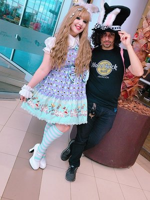 Gwendy Guppyの「Lolita」をテーマにしたファッションです。(2018/03/06)