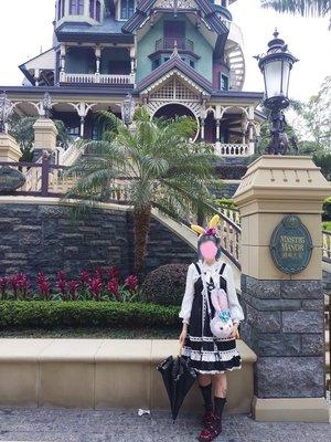 村口小4の「Lolita」をテーマにしたファッションです。(2018/03/06)