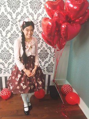 Olivia Nguyenの「Sweet lolita」をテーマにしたファッションです。(2018/03/08)