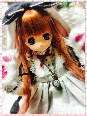 Lucia's 「doll」themed photo (2016/11/12)