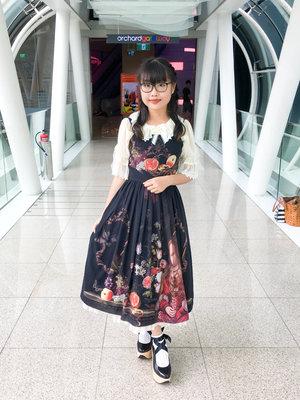 Riipin's 「Lolita fashion」themed photo (2018/03/13)