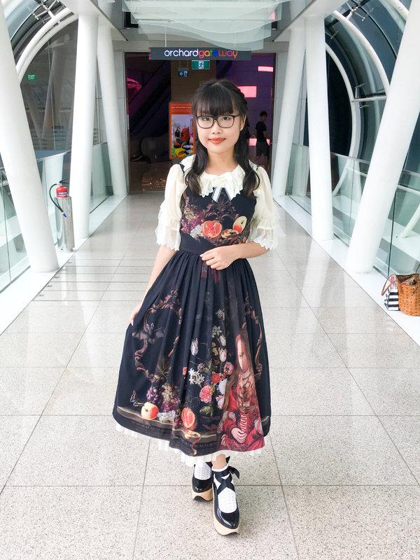 Riipinの「Lolita fashion」をテーマにしたファッションです。(2018/03/13)