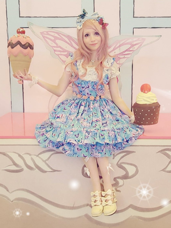 Mew Fairydollの「Fairy lolita」をテーマにしたファッションです。(2018/03/13)