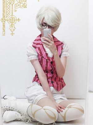 kuekuekuriの「Ouji」をテーマにしたファッションです。(2018/03/16)