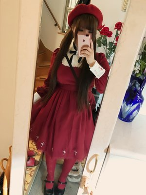love red clothes♡赤のお洋服好きすぎ...